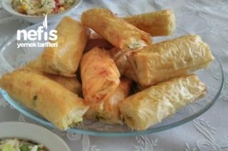 Patatesli Çıtır Börek (Baklava Yufkasından) Tarifi
