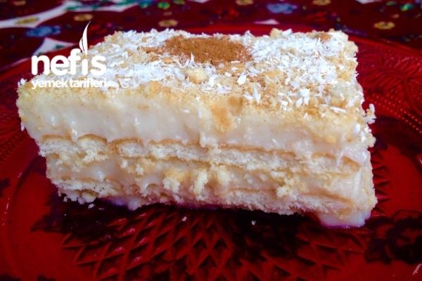 Tarçınlı Salepli Bisküvi Pastası Tarifi
