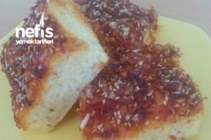 Duble Acılı Ekmek Tarifi Videosu 6