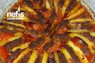 Köfte Patates Ve Domates( Fırında) Tarifi