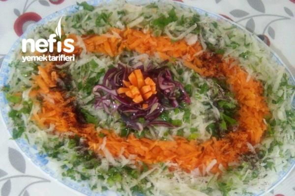 Harika Turp Salatası