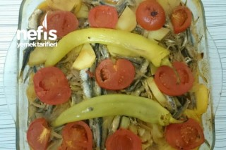 Fırında Hamsili Patates Yemeği Tarifi