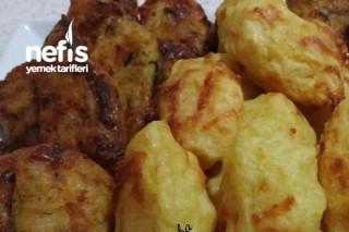 Fırında Patates Köftesi (Yumurtasız ve Unsuz ) Tarifi