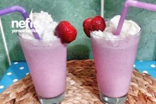 Milkshake Tarifi (Çilekli)