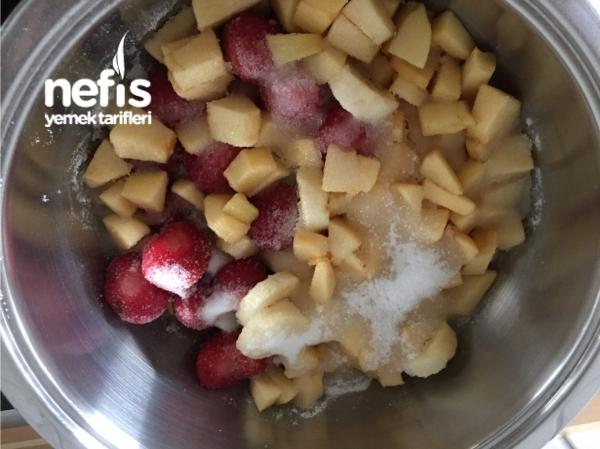 Muzlu Elmalı Çilek Marmelatı
