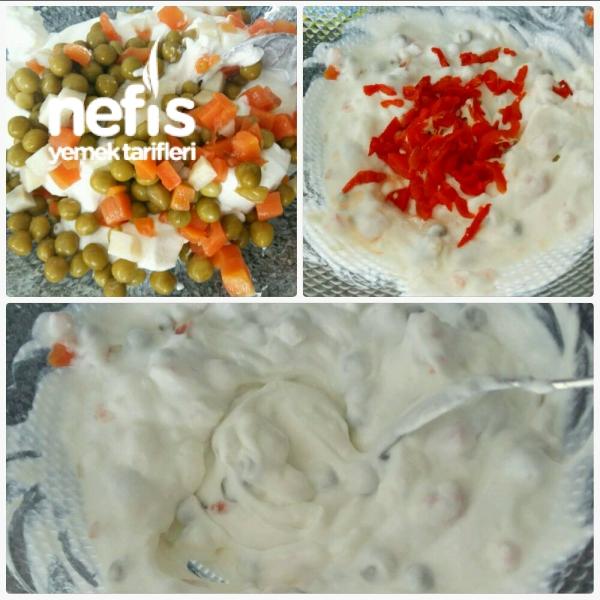Bulgur Köfteli Gün Salatası