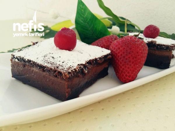 Çikolatalı Sihirli Kek (Chocolate Magic Custard Cake)