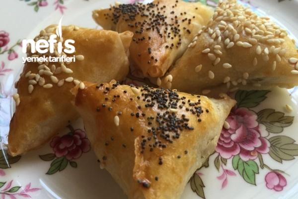 Fırında Muska Böreği (Puf Puf) Tarifi