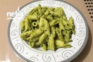 Pesto Soslu ( Fesleğen Soslu ) Makarna Tarifi