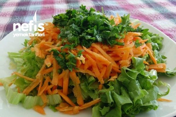 Manzaralı Salata Tarifi