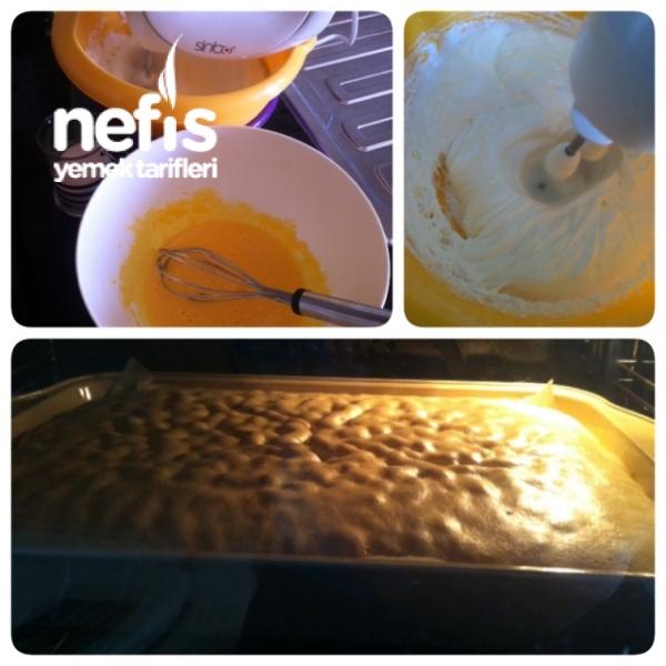 Rulo pasta ( pamuk gibi kek)