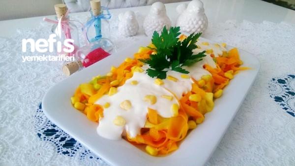 Kabakli Havuc Salatasi