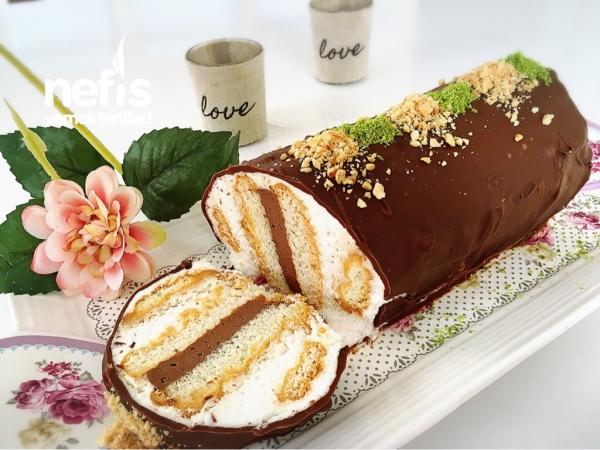 10dk Da Silindir Şekilli Pasta