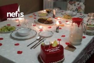 Eşime Sürpriz Doğum Günü Masam :) Tarifi