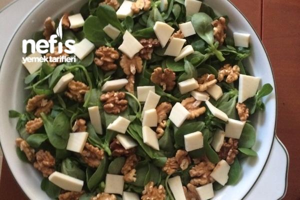 Omega-3 Bombası Semizotu Salatası