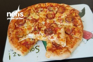 Kenarlı Pizza Tarifi