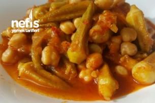 Zeytin Yağlı Bamya Yemeği (konserve) Tarifi