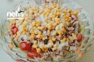Ton Balıklı Sezar Salatası Tarifi