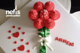 Bir Buket Cupcake (Anneler Günü İçin) Tarifi