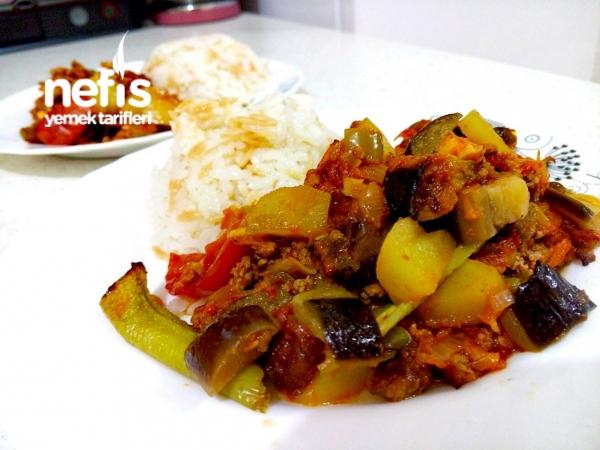 Kızartmadan Patlıcan Musakka