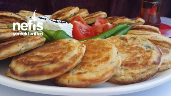 Kahvaltılık Peynirli Pankek