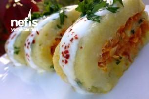 Patatesli Havuçlu Rulo Salata Tarifi