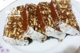 Krem Şantili Portakallı Mozaik Pasta Tarifi