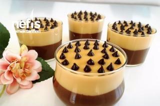 Çikolatalı Karamelli Puding Tarifi