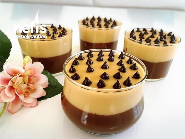 Çikolatalı Karamelli Puding