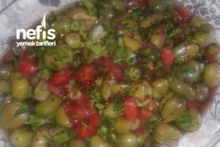 Hatay Usulü Zeytin Salatası Tarifi