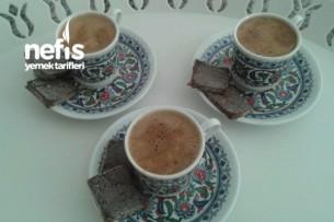 Kahve İkramlığı (Artan Kek İle) Tarifi