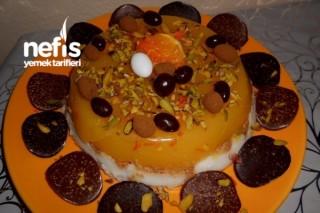 Bisküvili Sütlü Portakallı Pelte Tarifi