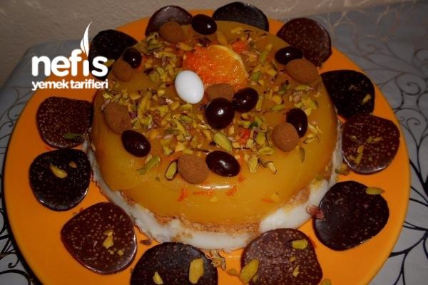 Bisküvili Sütlü Portakallı Pelte
