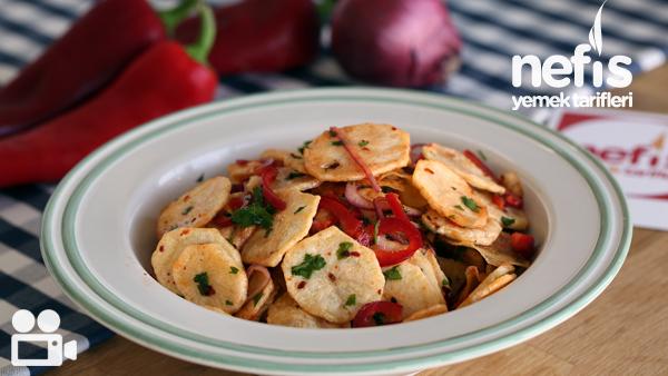 Kızarmış Patates Salatası Tarifi Videosu