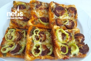 Bol Malzemos Pizza Ekmekçikler Tarifi
