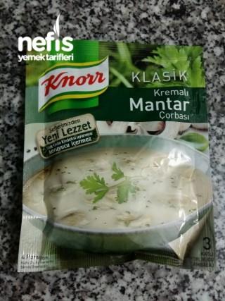 Hazır Kremalı Çorba İle Nefis Makarna