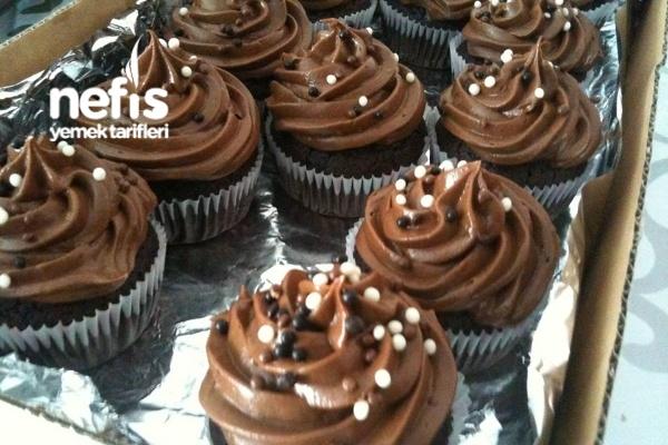 Nutellalı Cupcakes Tarifi