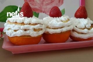 Portakal Kabuğunda Mini Pastacıklar Tarifi