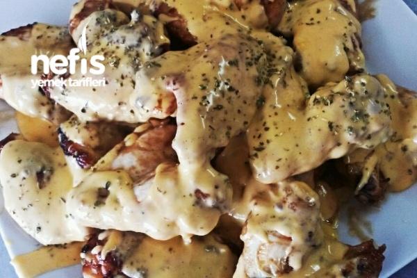 Bal soslu tavuk kanatları