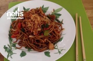 Çin Yemeği  Chinapfanne Tarifi