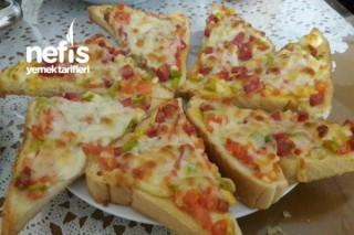 Kahvaltı Pizzaları Tarifi