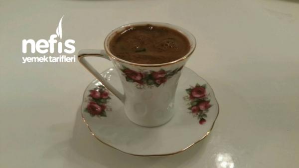 Köpüklü Türk Kahvem