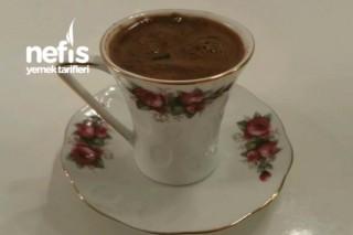 Köpüklü Türk Kahvem Tarifi