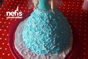 Froozen Kraliçe Elsa Doğum Günü Pastası Tarifi