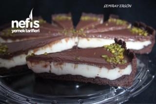 Pudingli Çikolatalı Tart Tarifi