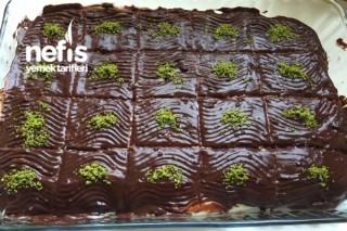 Çikolata Soslu Etimek Tatlısı Tarifi