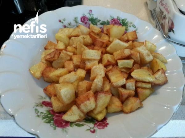 Patatesli İspanak Yemeği