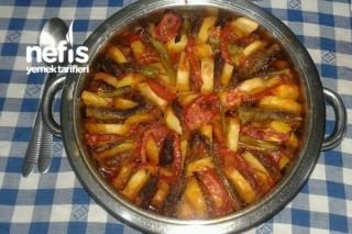 Fırında Patatesli İzmir Köfte Tarifi