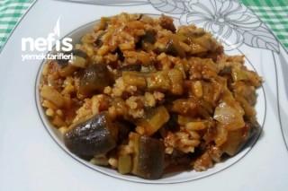 Pirinçli Patlıcan Yemeği Tarifi