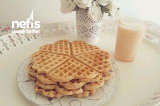 Tam Buğday Unu İle Waffle ( Sağlıklı Waffle) Tarifi